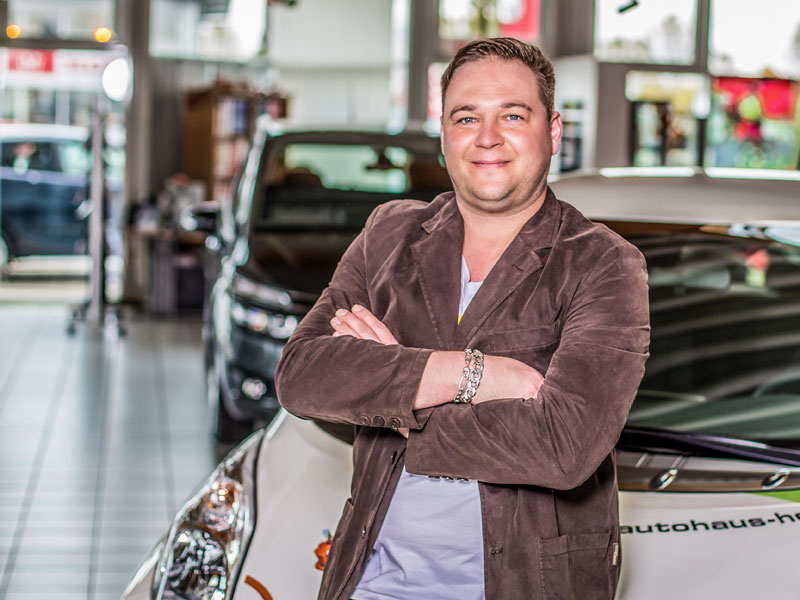 Geschäftsführer/Verkaufsleiter Sören Hering